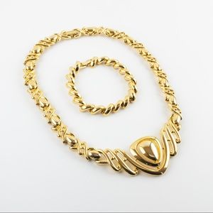 Daria Necklace with Joan Rivers San Marco Bracelet